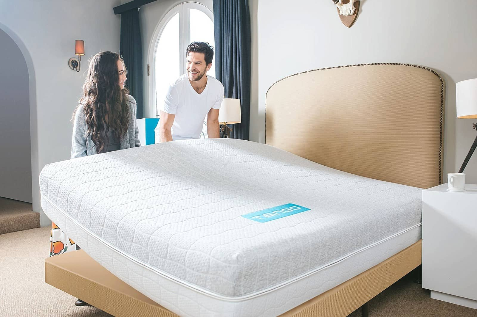 The five model Bespoke by Marshall ® collection is the ultimate in luxury. Each Bespoke mattress is hand upholstered to offer a deep seated, luxurious comfort with full support and excellent pressure-relieving response to the body's natural contours.