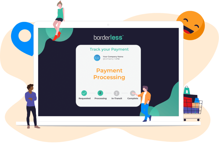 Track your payment using borderless. Peace of mind. Know where your funds are at all times