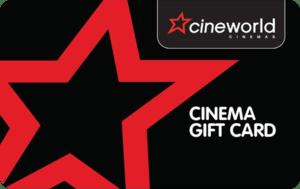 Cinema gift card
