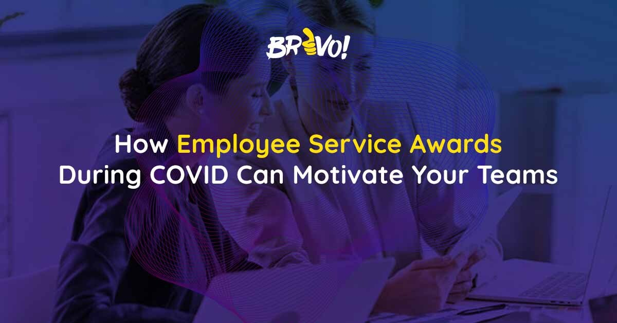 How Employee Service Awards During COVID Can Motivate Your Teams
