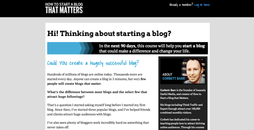 9 Ways You Can Build a Blog that Matters
