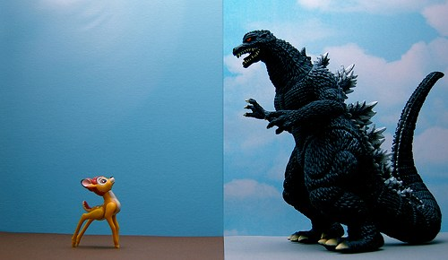 Bambi vs Godzilla