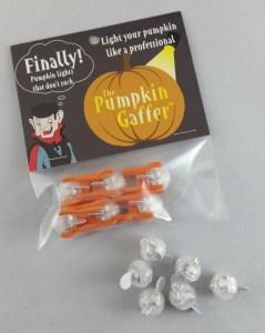 pumpkin gaffers, pumpkin lights, halloween, pumpkin carving