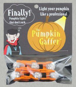 pumpkin gaffer, led pumpkin lights, halloween, pumpkin carving