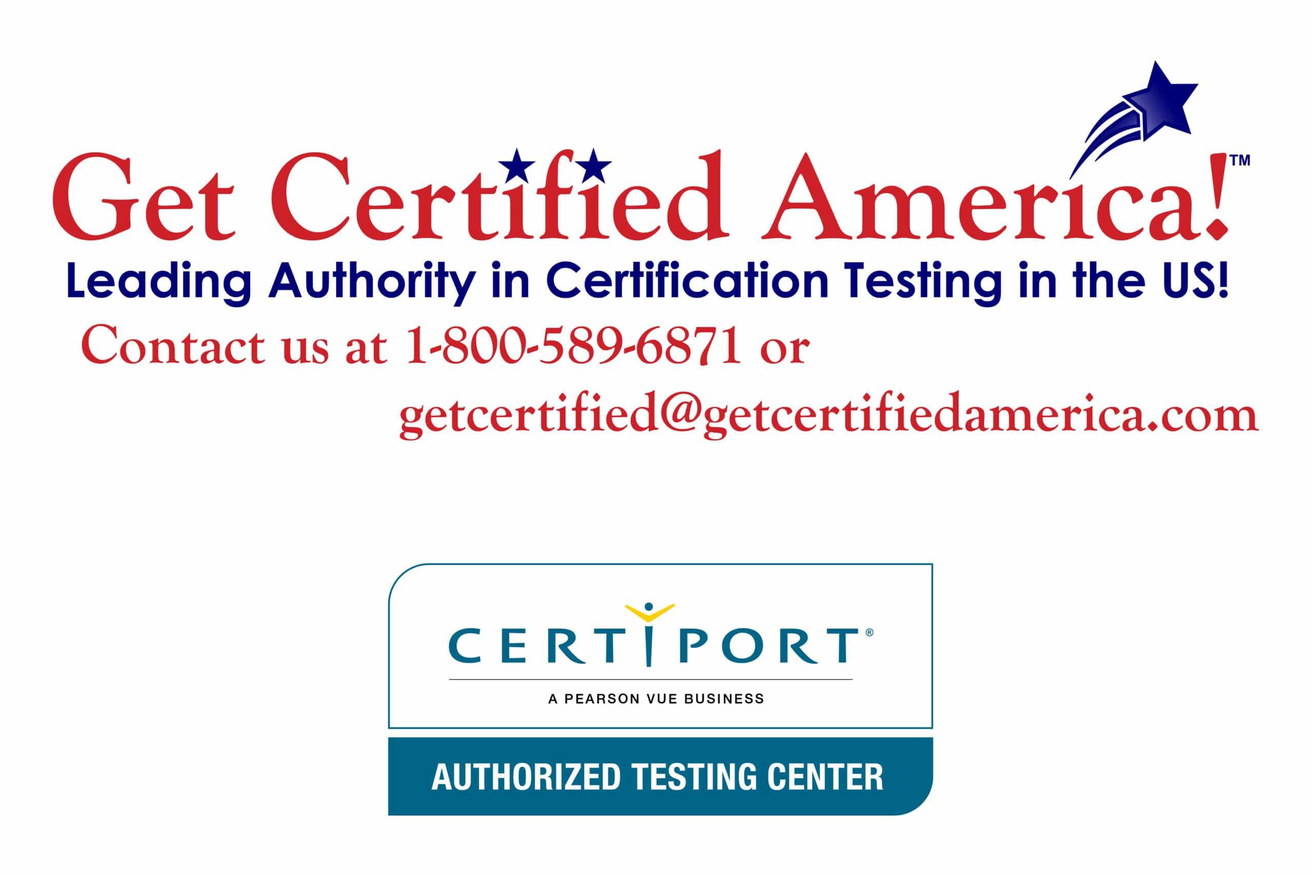 Get Certified America!