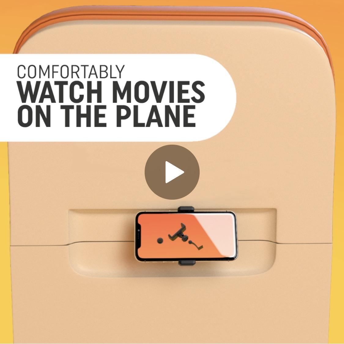 Plane phone holder