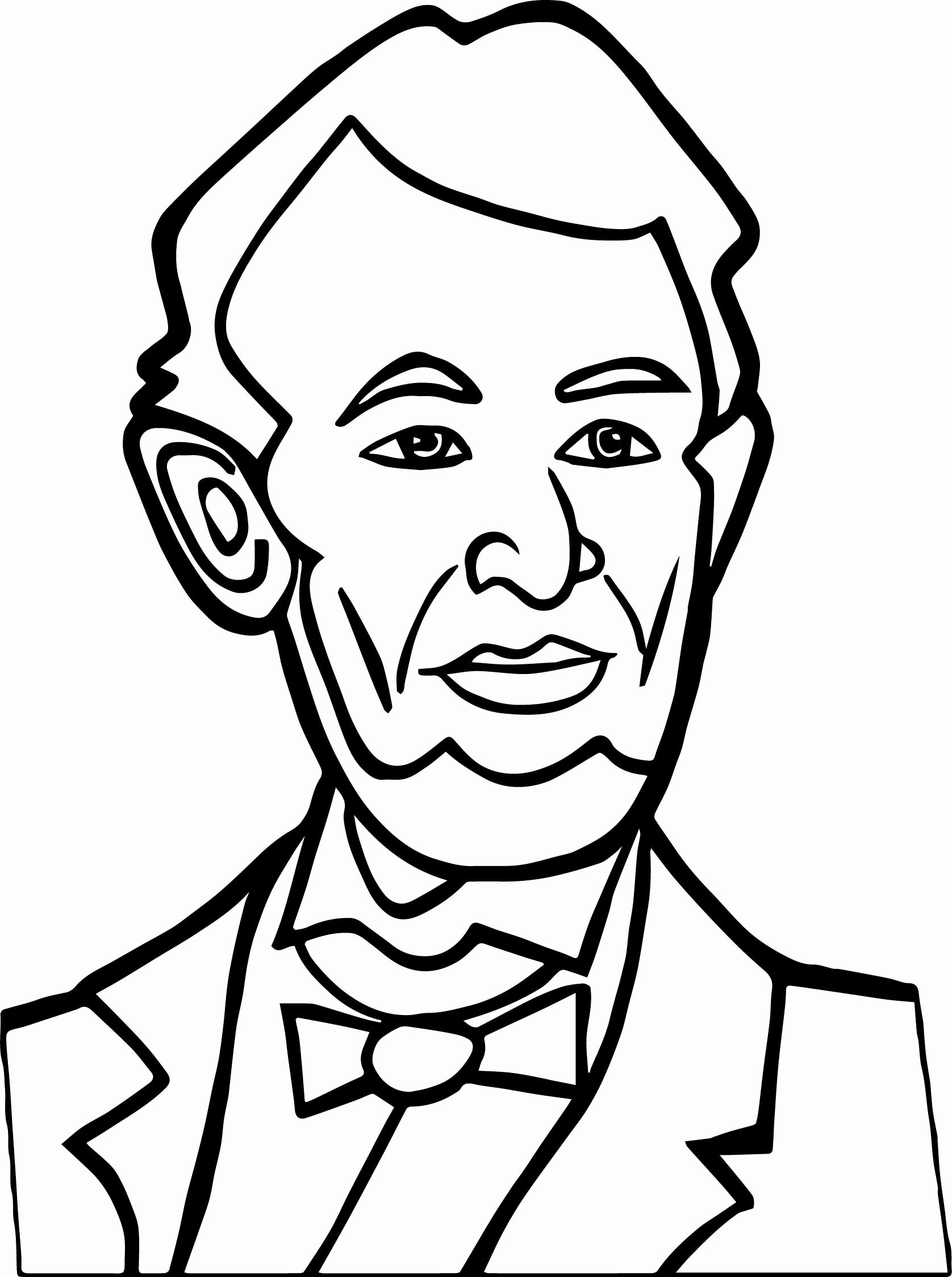 Abraham Lincoln Coloring Page At Getcolorings