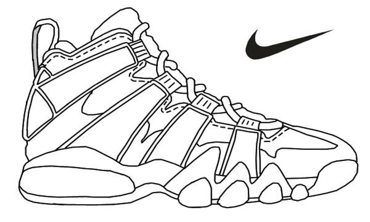 Air Jordan Coloring Pages At Getcolorings