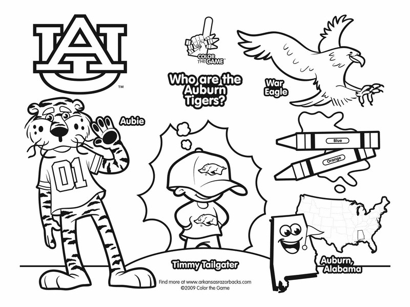 alabama crimson tide coloring pages at getcolorings