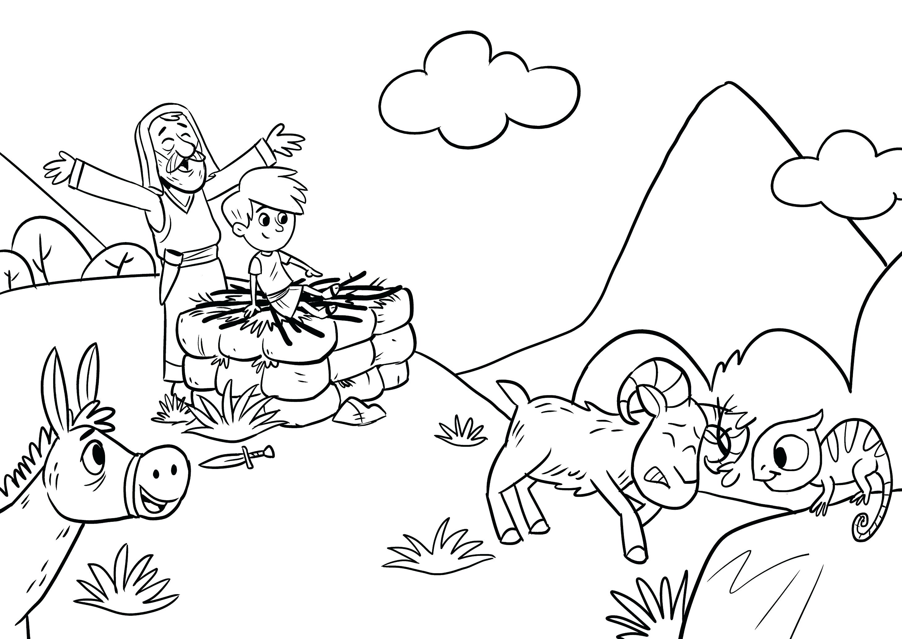 Altar Coloring Page At Getcolorings