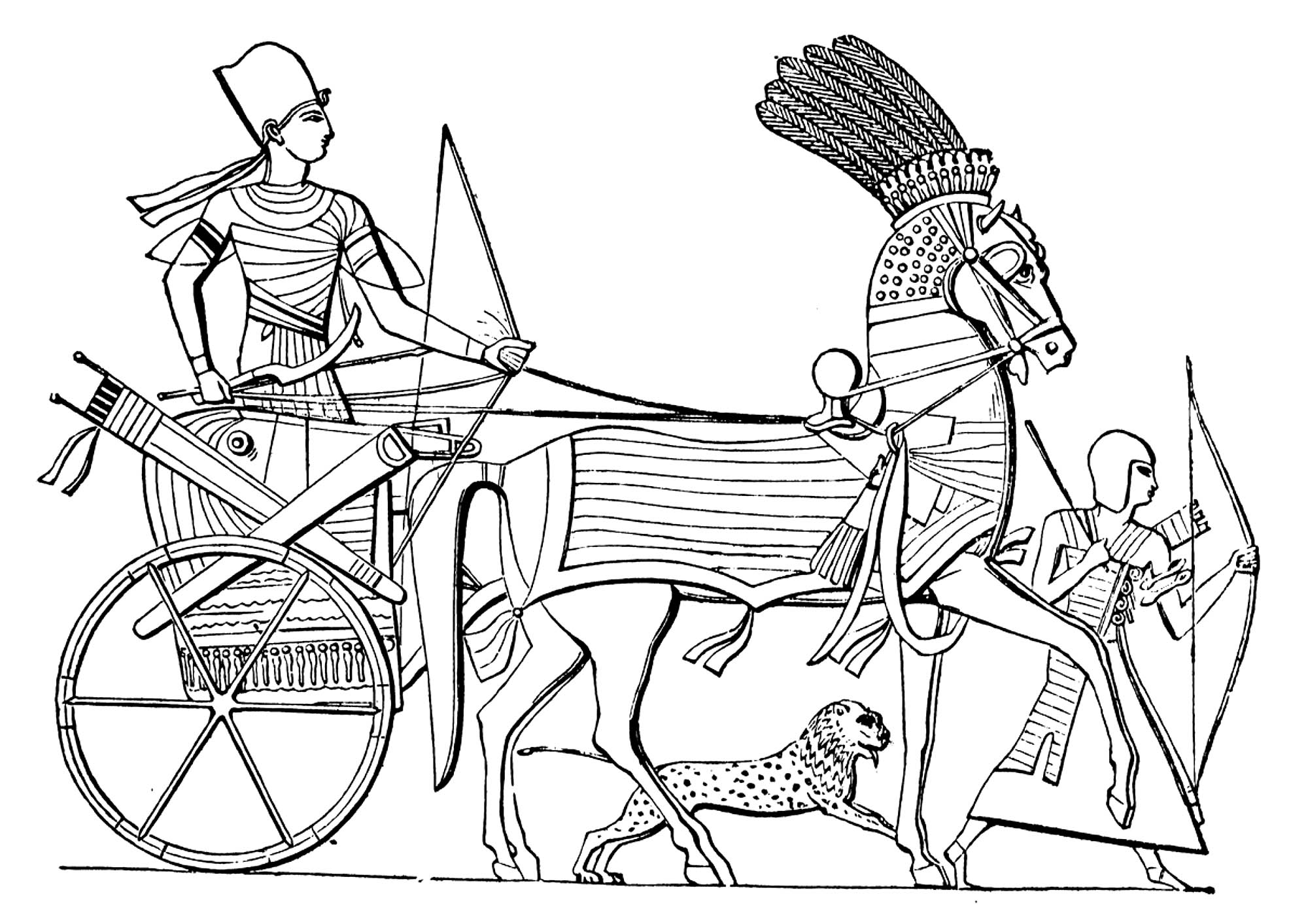 Ancient Egypt Coloring Pages At Getcolorings