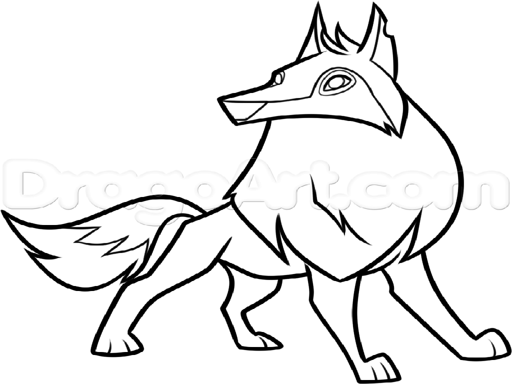 Animal Jam Arctic Wolf Coloring Pages At Getcolorings