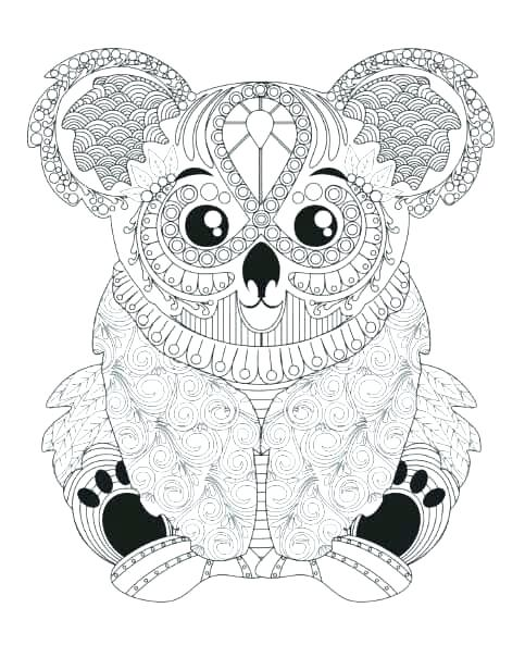 Animal Mandala Coloring Pages For Adults at GetColorings ... | free printable animal mandala coloring pages for adults
