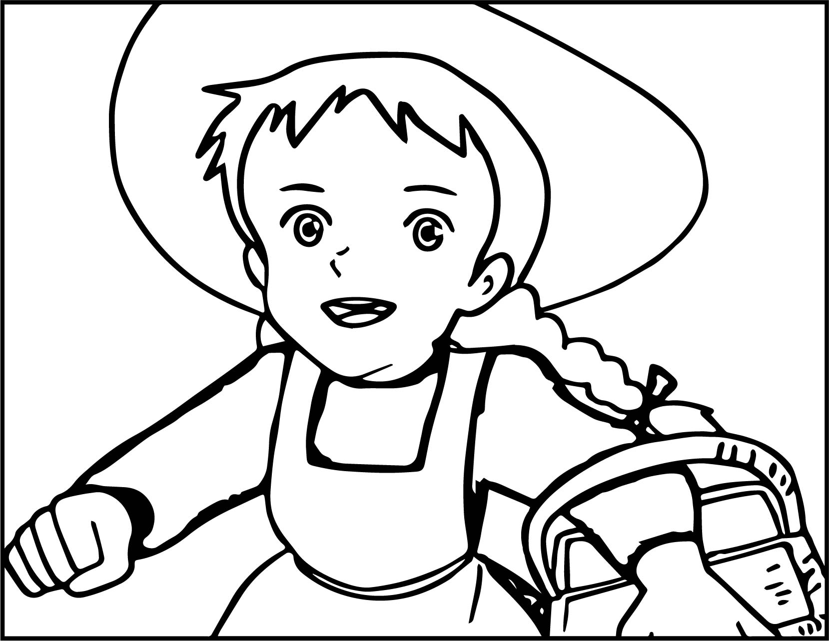 Anne Of Green Gables Coloring Pages At Getcolorings
