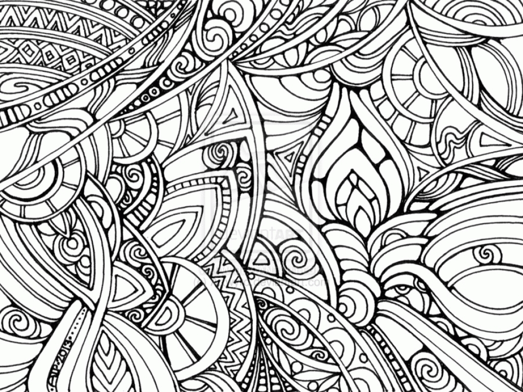 Anxiety Coloring Pages At Getcolorings