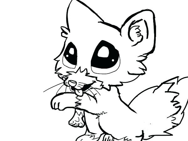 arctic fox coloring page at getcolorings  free