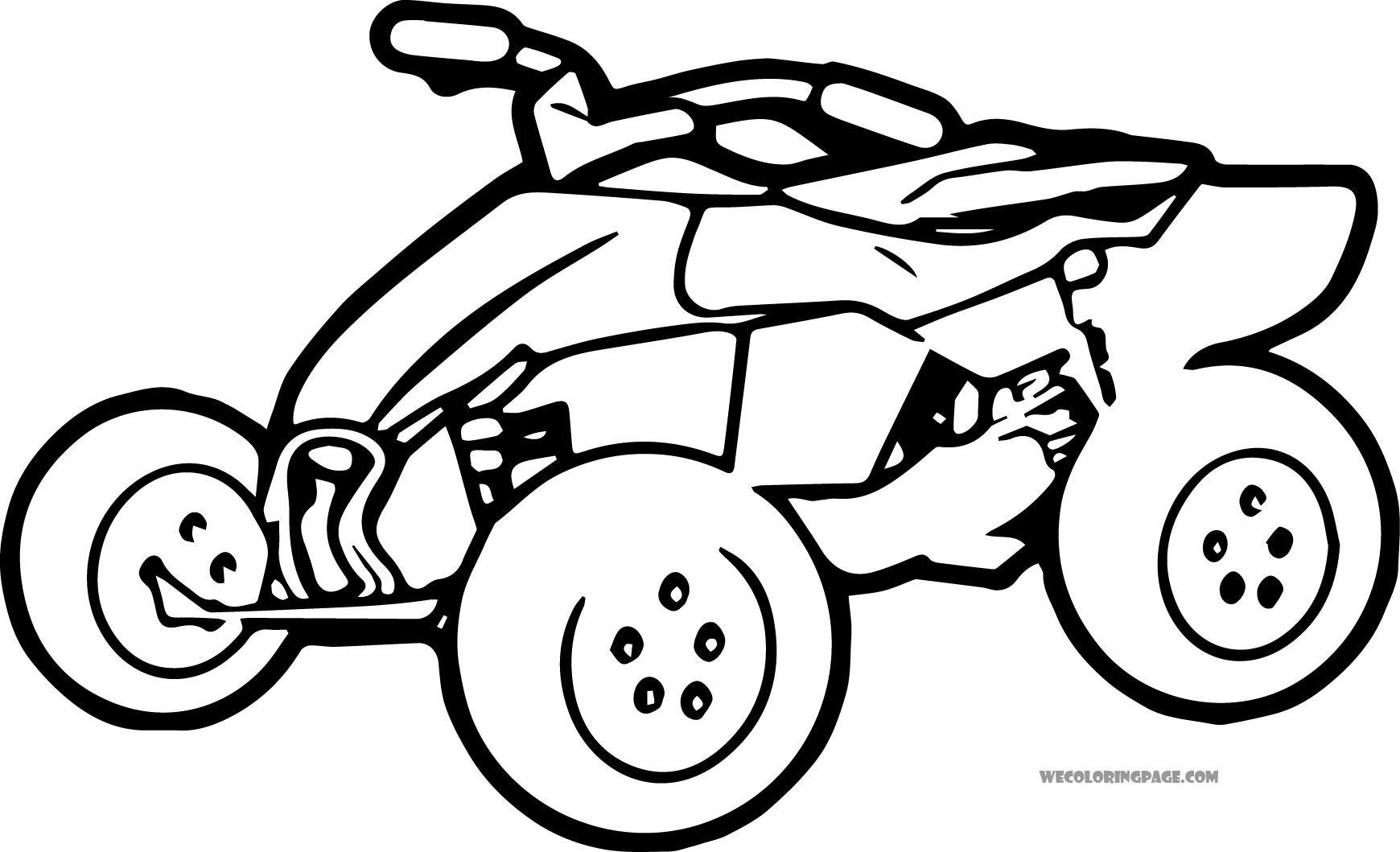 Atv Coloring Pages At Getcolorings