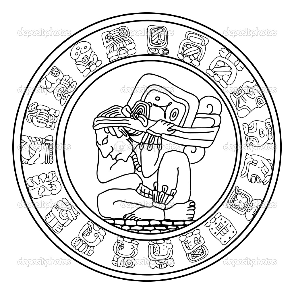 Aztec Sun Coloring Pages At Getcolorings