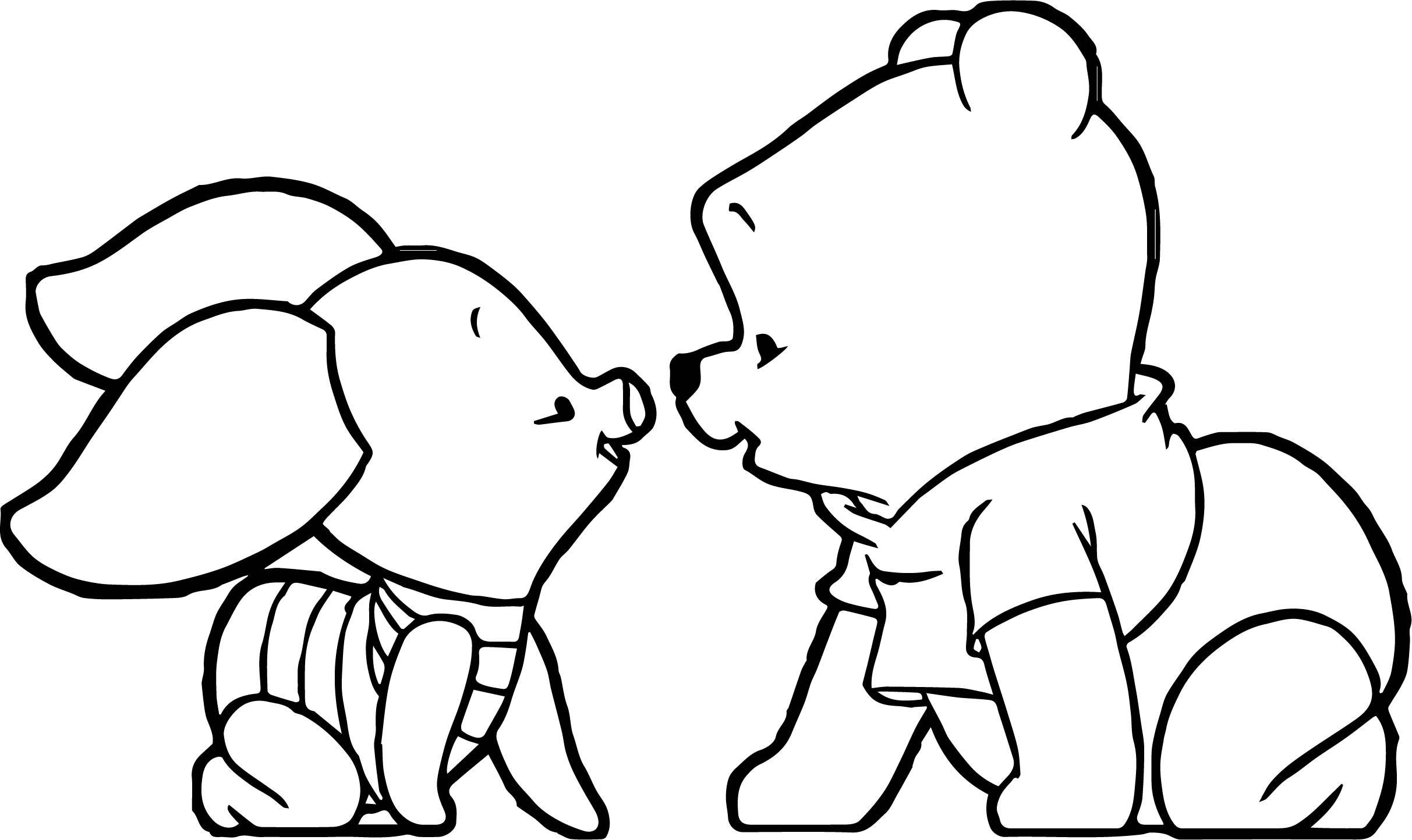 Baby Pooh Coloring Pages At Getcolorings