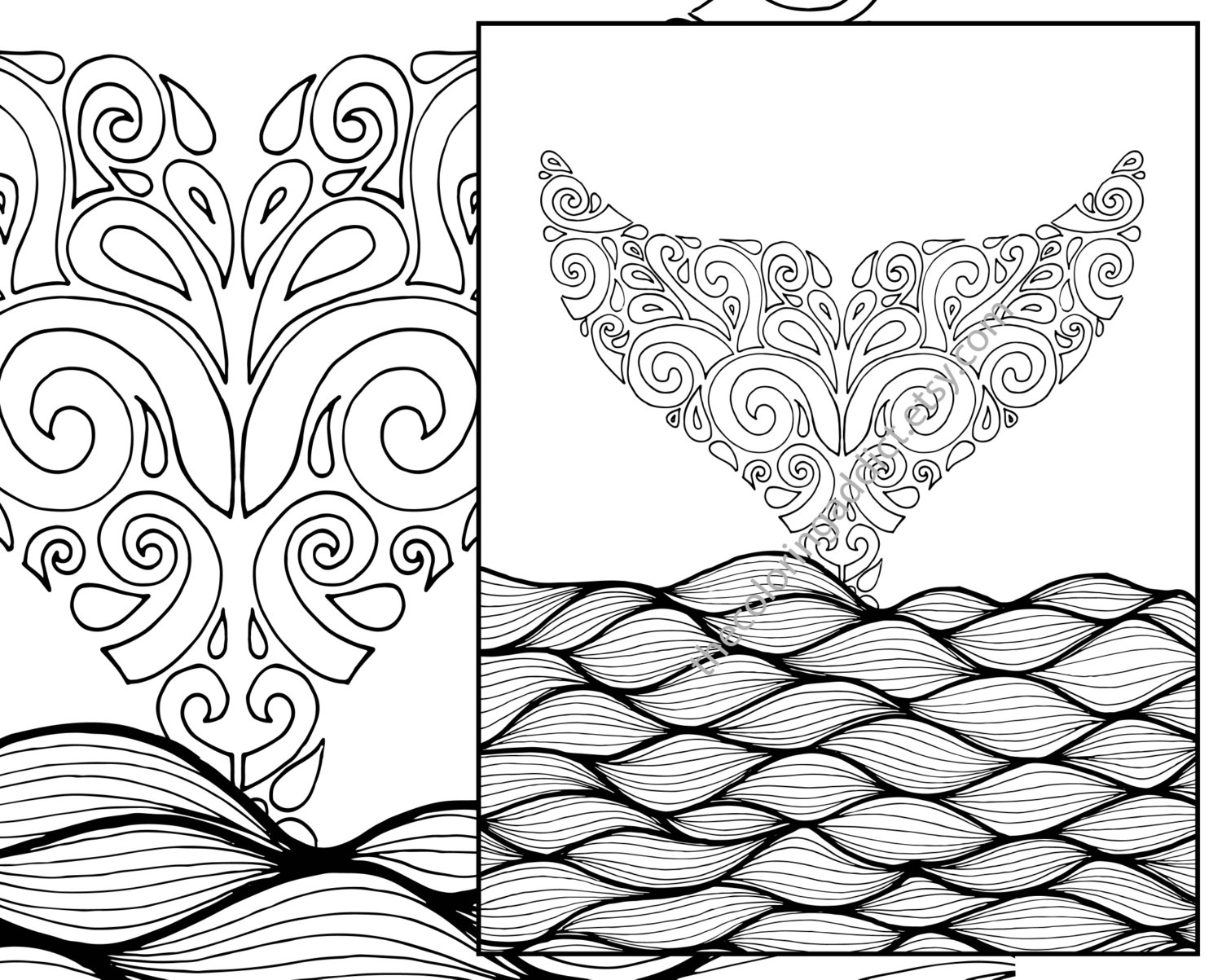 Beach Coloring Pages For Adults Printable At Getcolorings