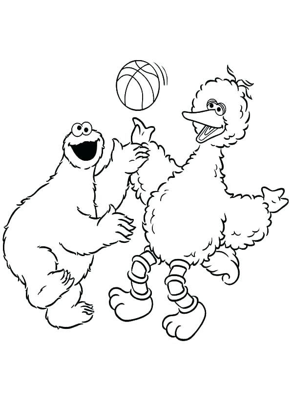 big bird coloring pages at getcolorings  free