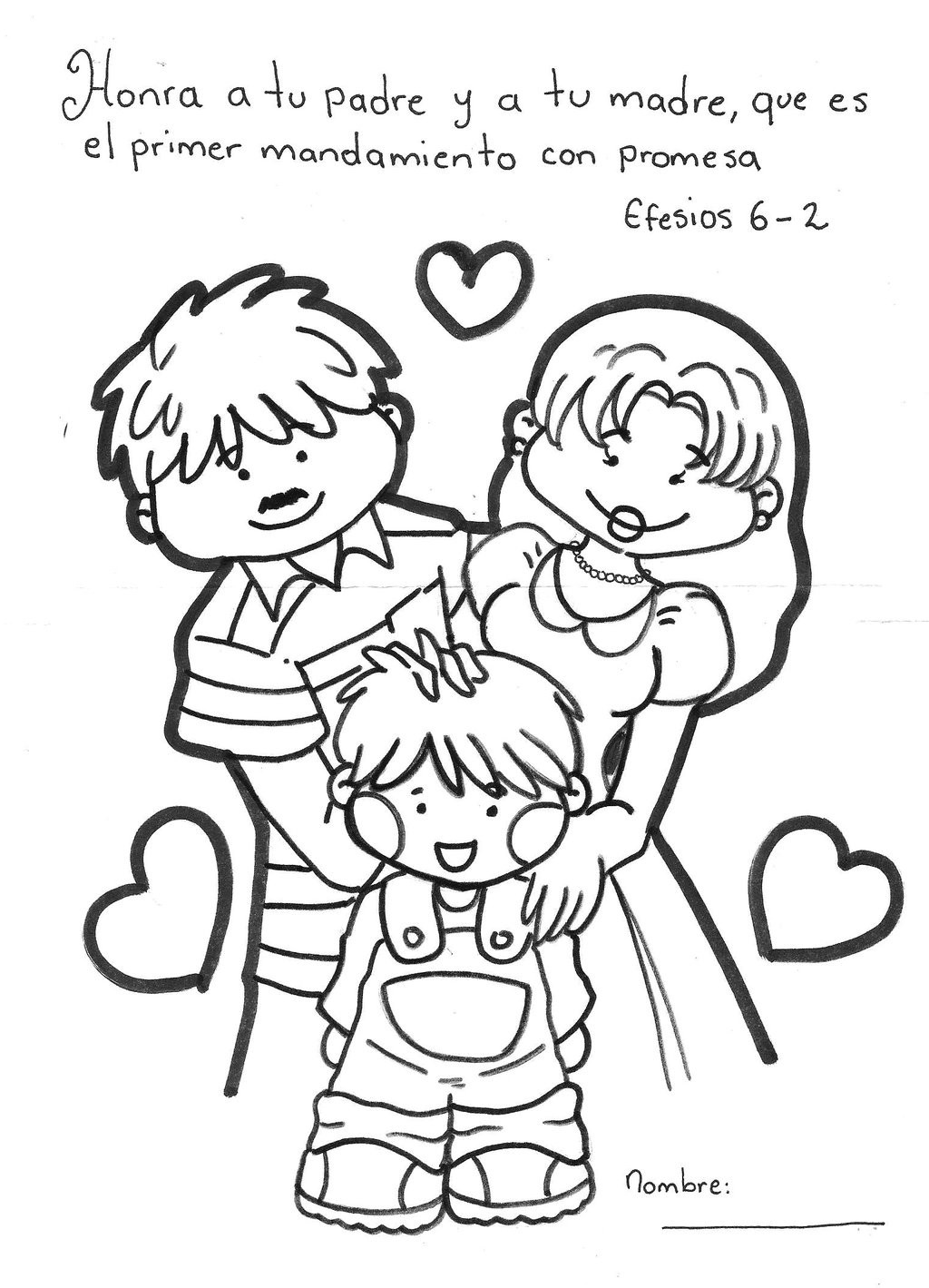 Black Family Coloring Pages At Getcolorings
