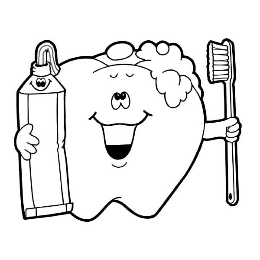 Brush Your Teeth Coloring Page At Getcolorings