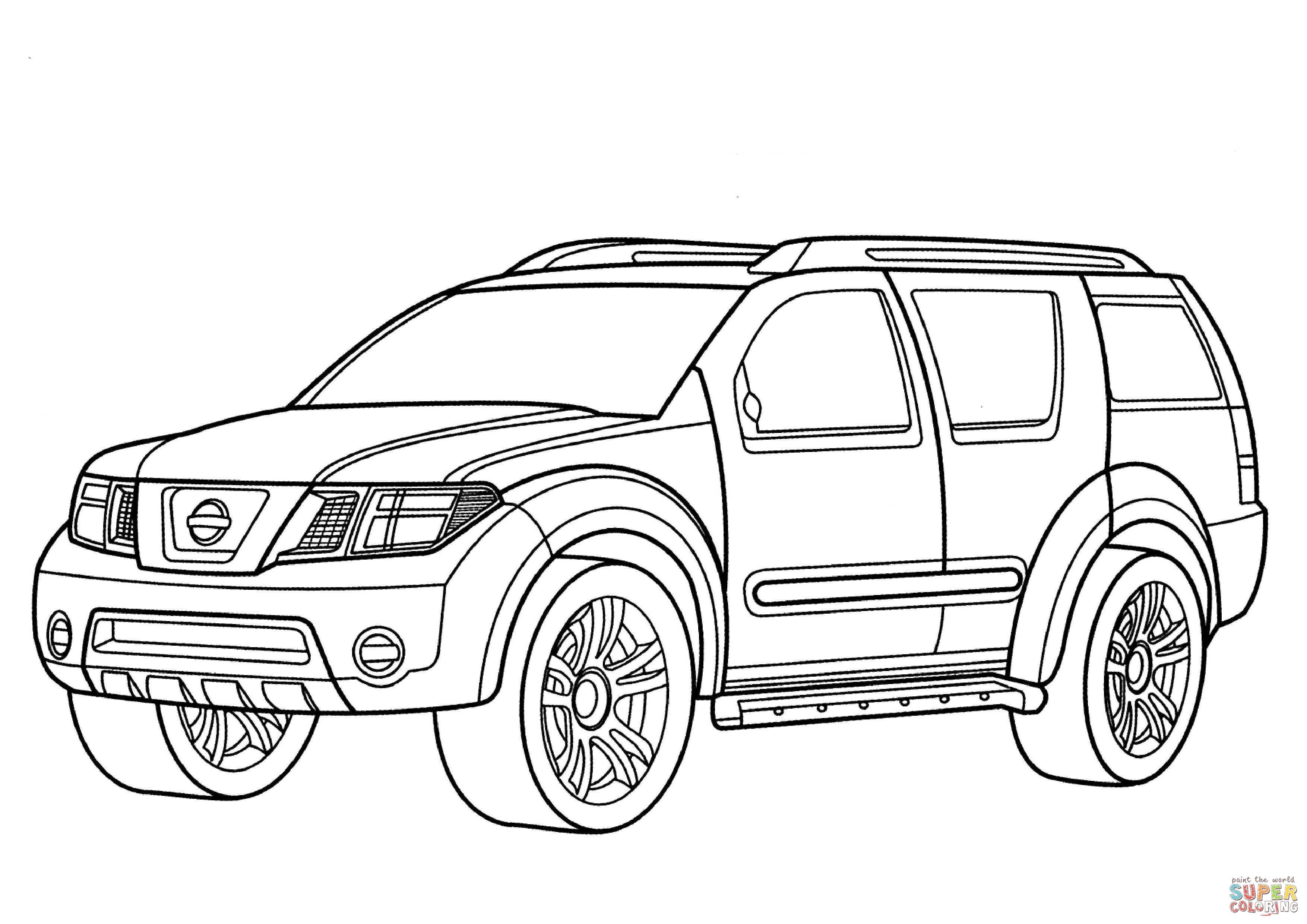 Cadillac Coloring Pages At Getcolorings