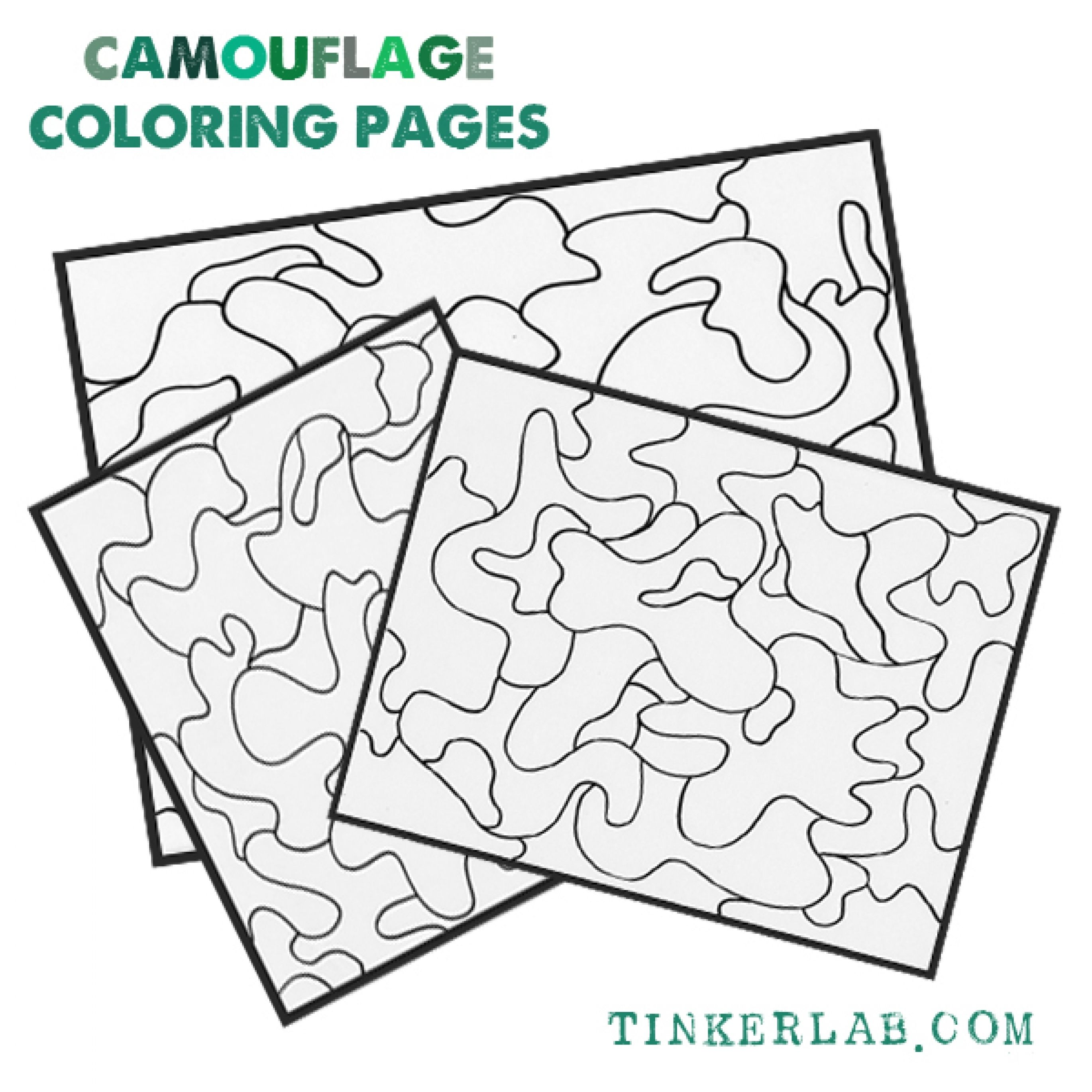 Camouflage Coloring Pages Printable At Getcolorings