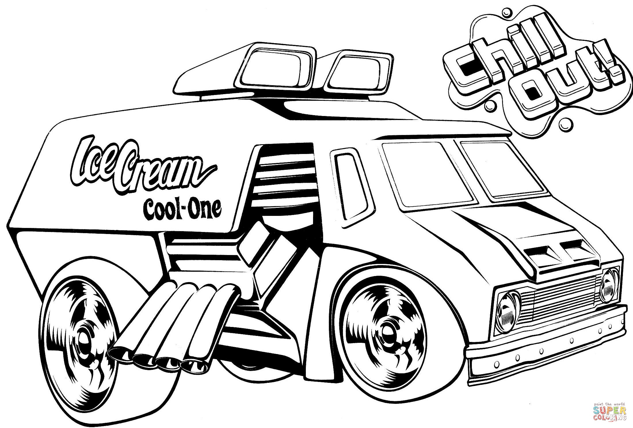 Car Wash Coloring Pages At Getcolorings
