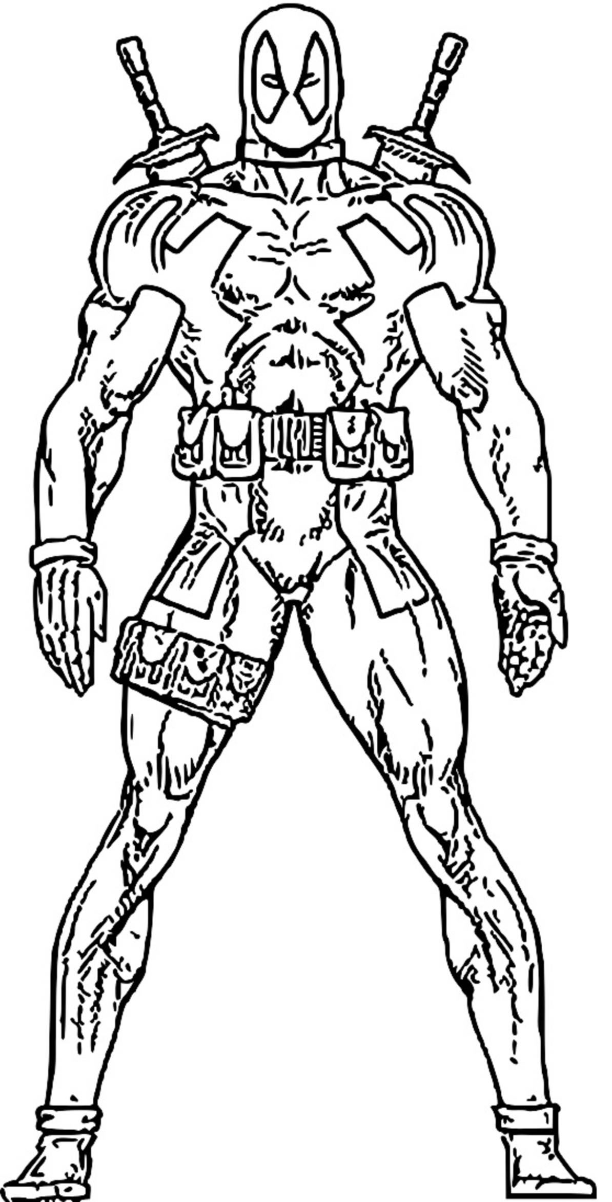 Cartoon Superheroes Coloring Pages At Getcolorings