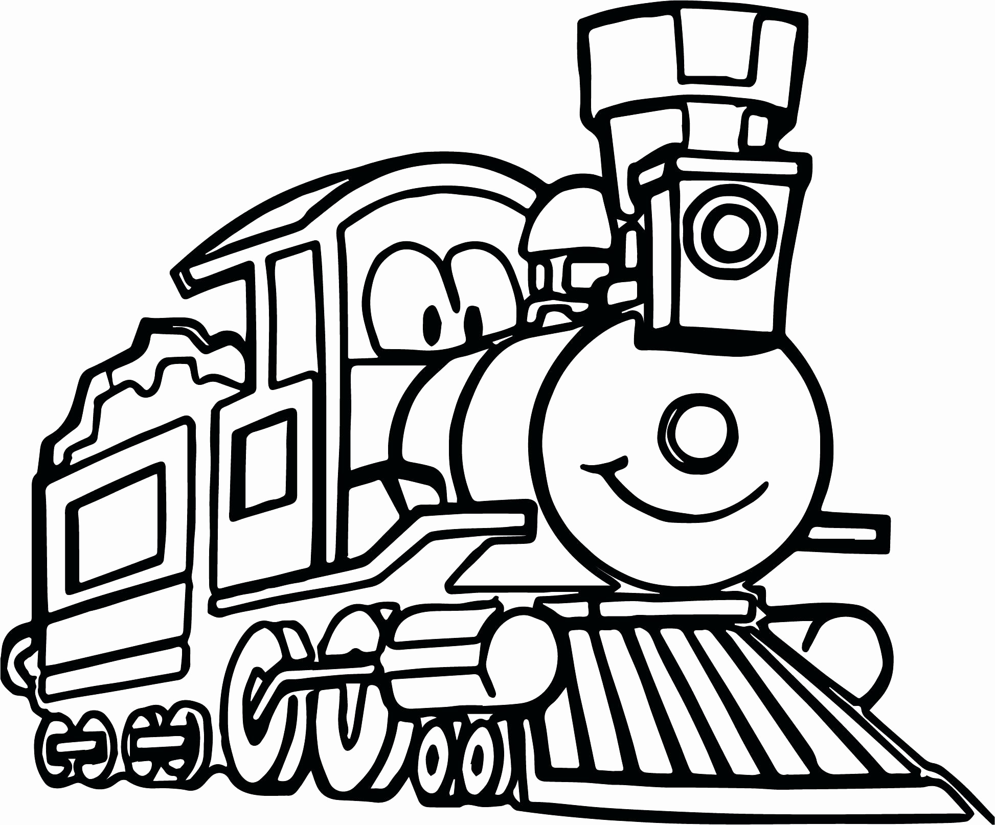 Cartoon Train Coloring Pages At Getcolorings