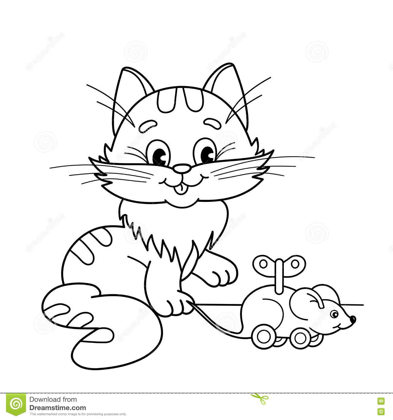 Cat And Mouse Coloring Pages At Getcolorings