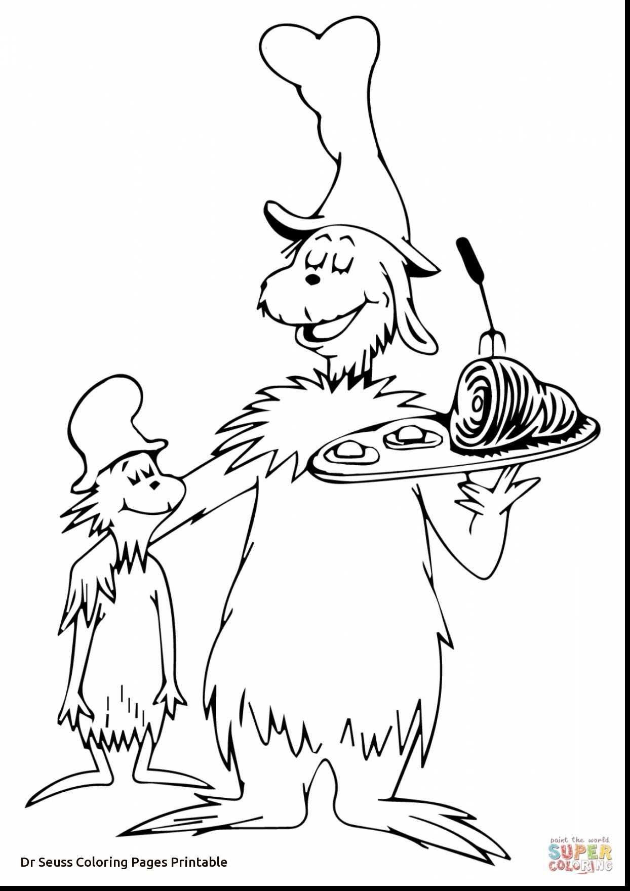 Cat In The Hat Coloring Pages At Getcolorings