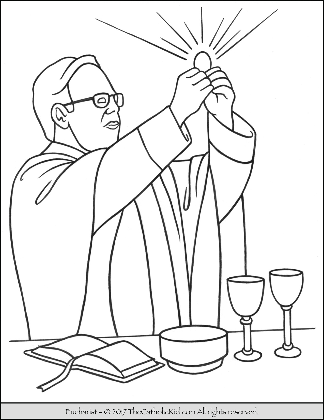 Catholic Thanksgiving Coloring Pages At Getcolorings