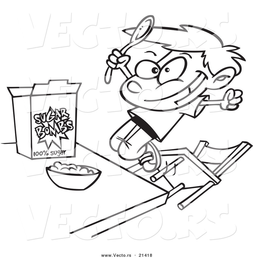 Cereal Box Coloring Page At Getcolorings