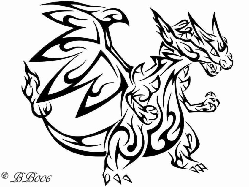 charizard colouring pages at getcolorings  free