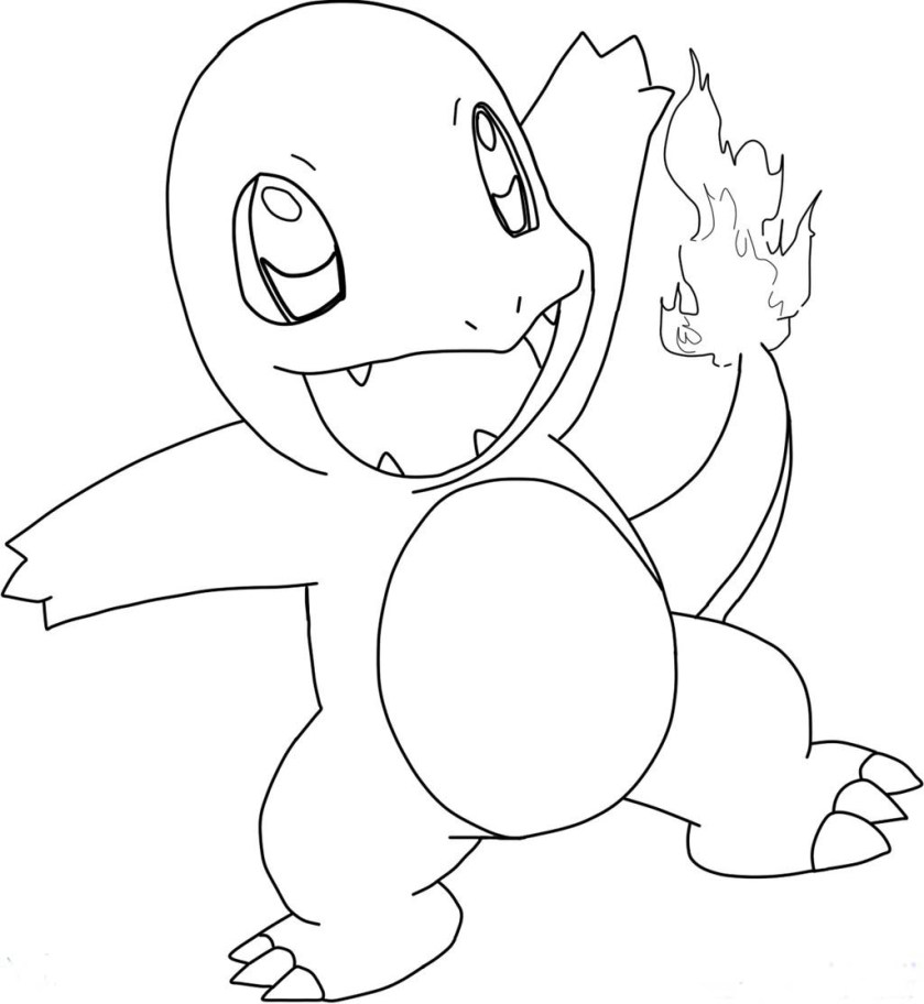 charmeleon coloring page at getcolorings  free