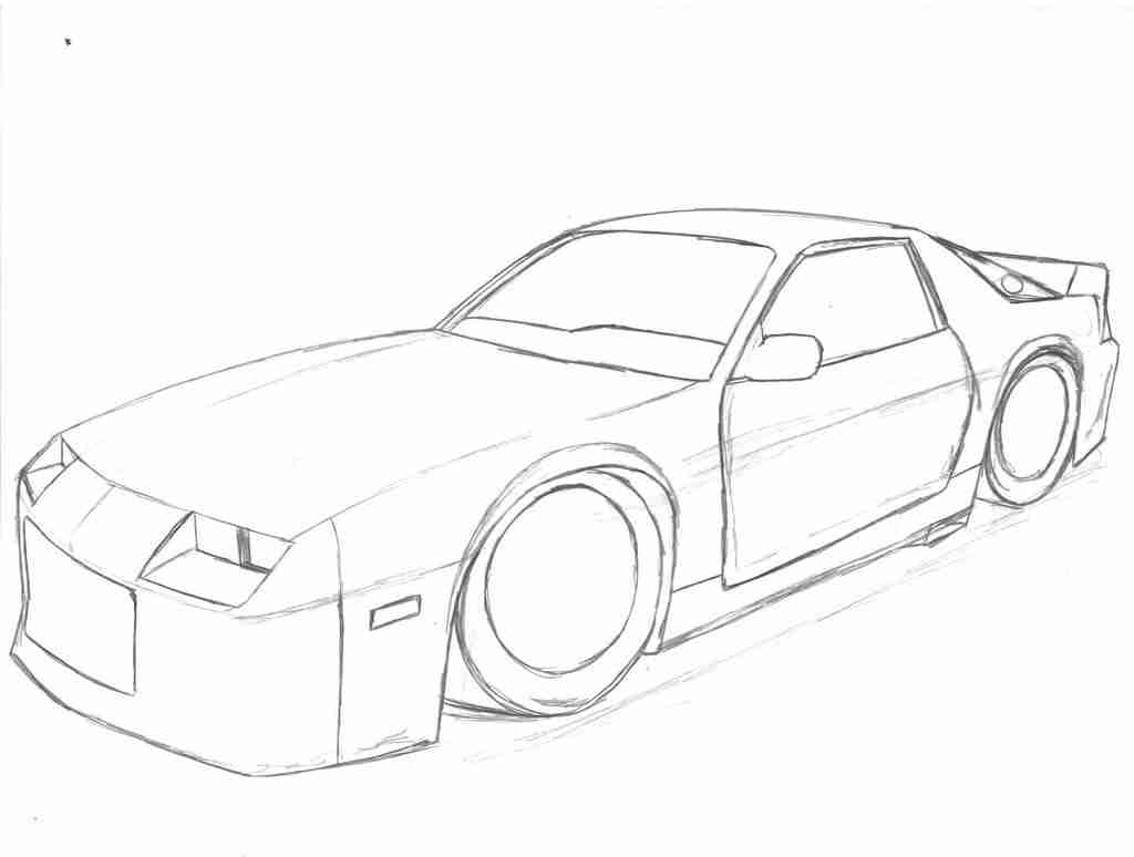 Chevrolet Camaro Coloring Pages At Getcolorings