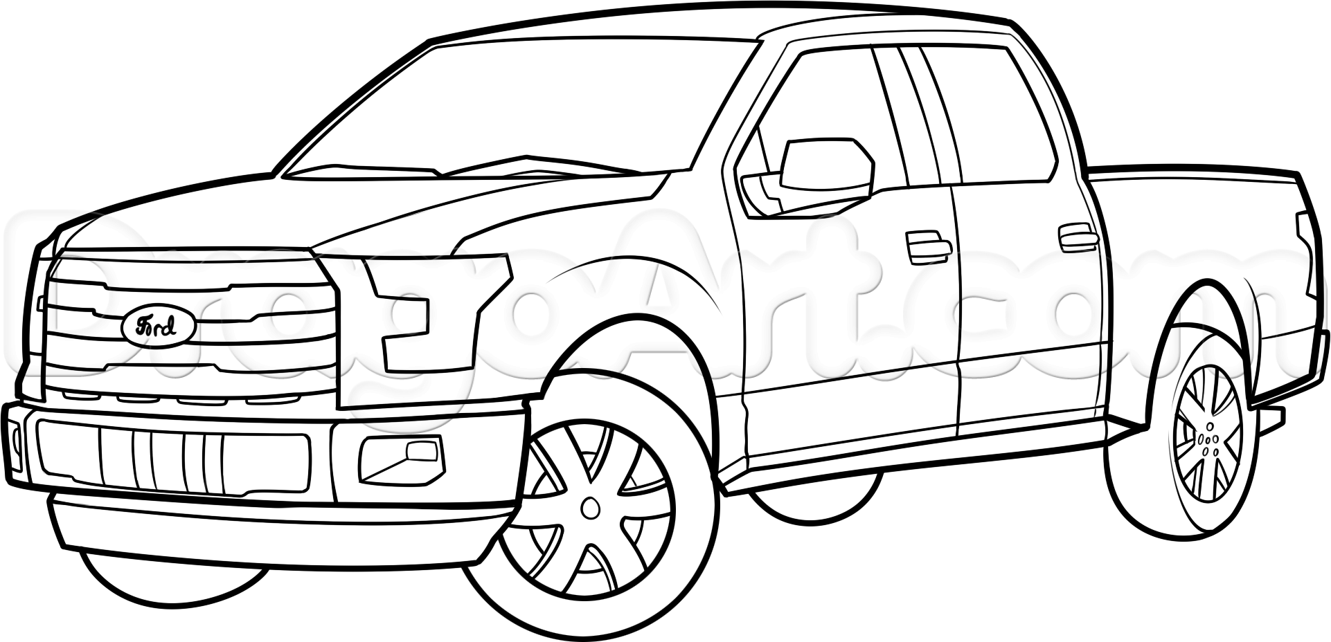 Chevy Silverado Coloring Pages At Getcolorings
