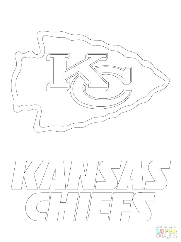 chiefs coloring pages at getcolorings  free printable
