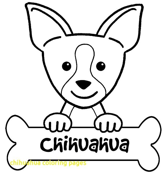 chihuahua coloring pages at getcolorings  free