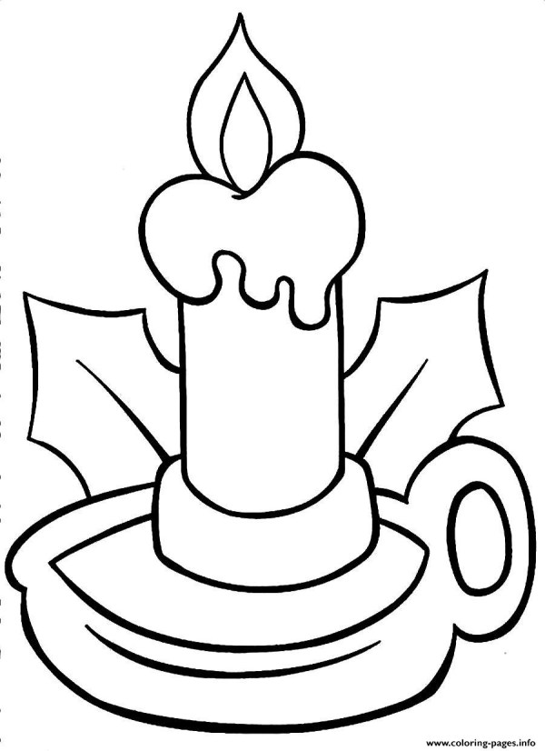 christmas lights coloring pages # 61