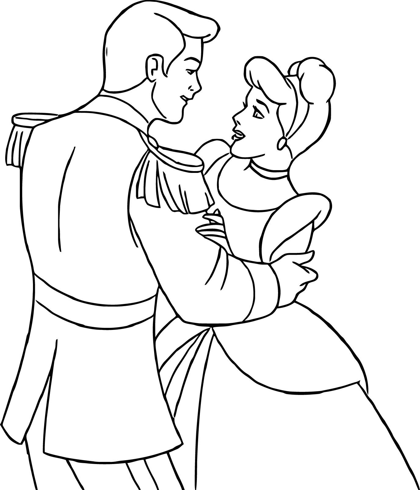 Cinderella Prince Charming Coloring Pages At Getcolorings