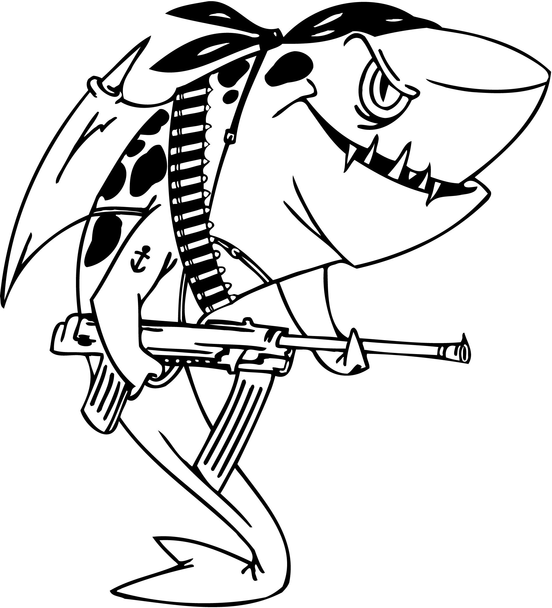Clark The Shark Coloring Pages At Getcolorings