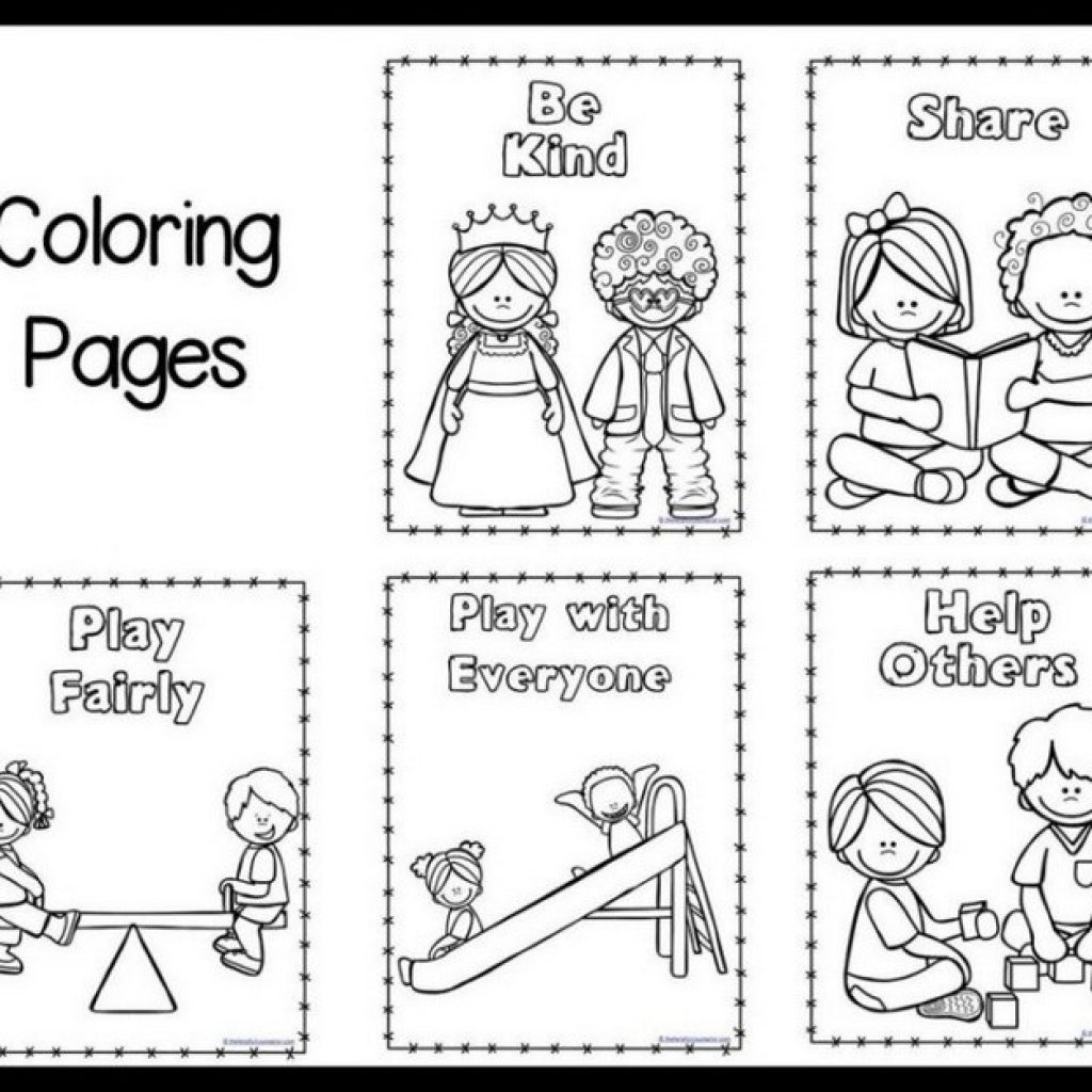 Classroom Rules Coloring Pages At Getcolorings