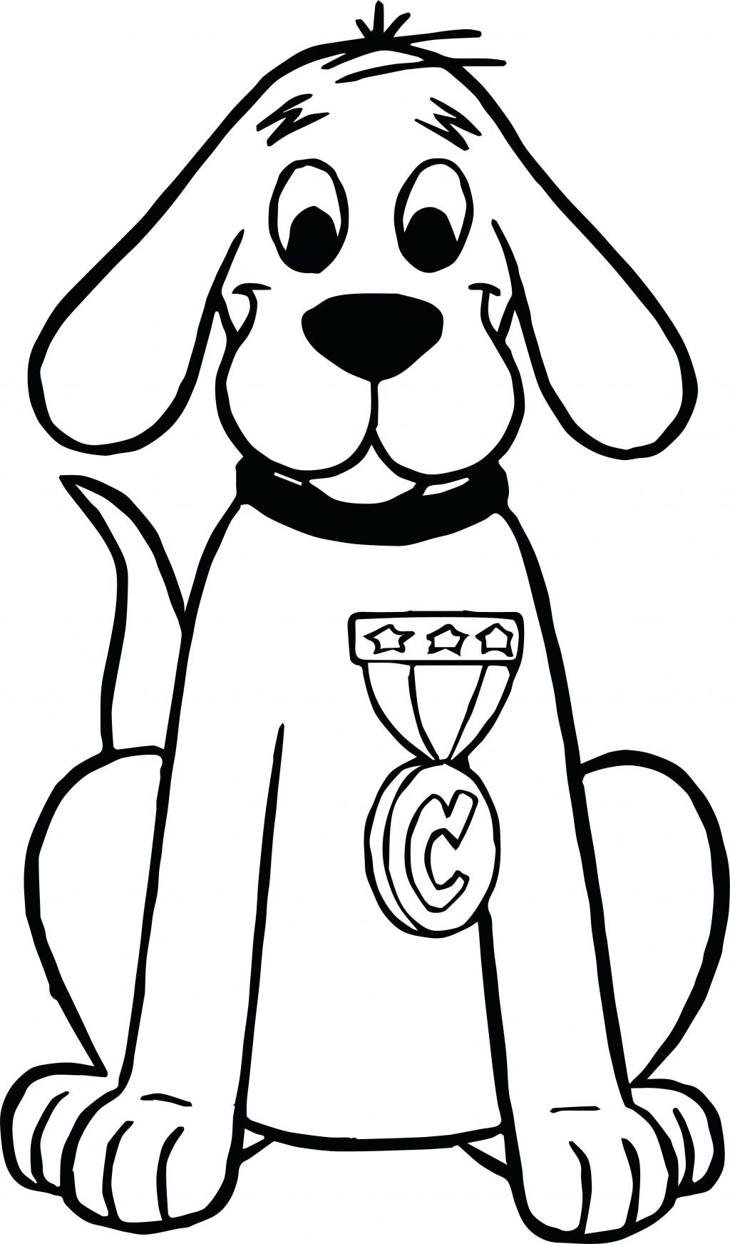 Clifford Coloring Pages At Getcolorings