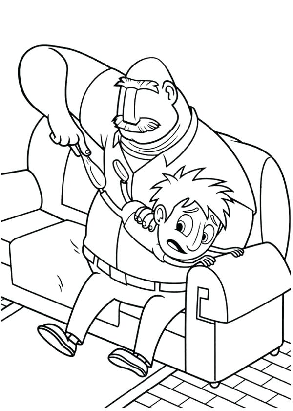 cloudy with a chance of meatballs coloring pages # 60