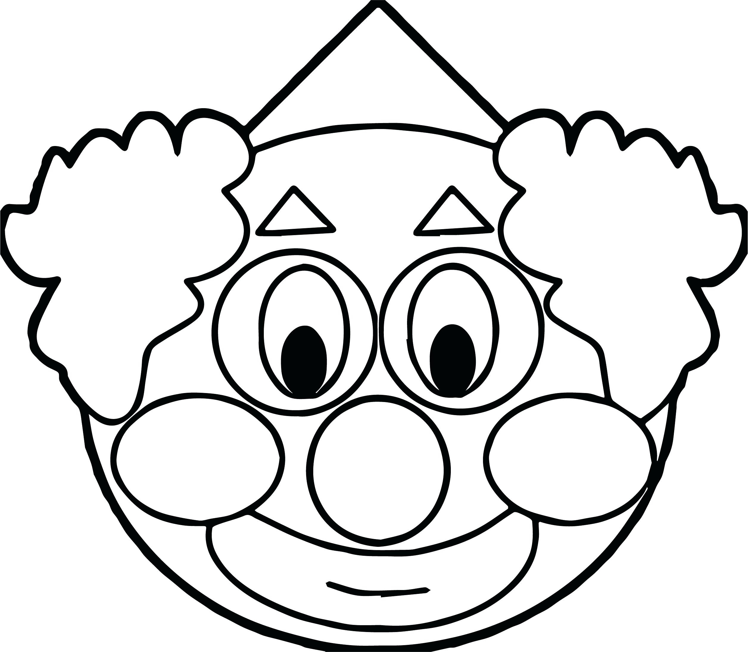 Clown Fish Coloring Page At Getcolorings