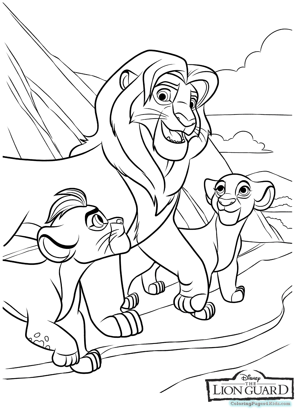Color Guard Coloring Pages At Getcolorings